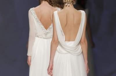Bruidsjurken Victorio & Lucchino 2015: minimalistisch chic