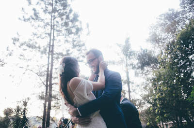 Casamento mega rústico no campo de Isabel e Rafael: intimista, personalizado, perfeito!