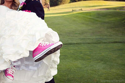 Una sposa in scarpe da tennis: perché no?
