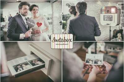 Come ricordare in modo divertente il tuo matrimonio: ecco Instabox