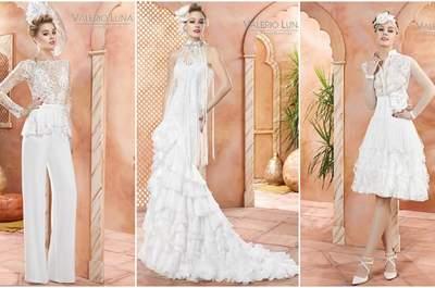 Valerio Luna: la elegancia y el buen gusto se dan cita para personalizar tu vestido de novia