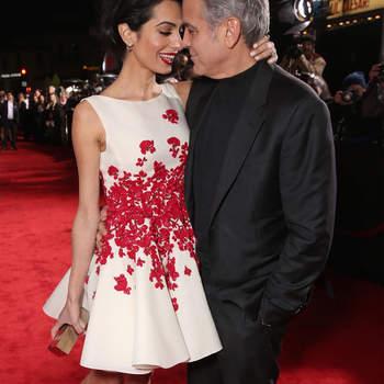 George Clooney e Amal-Alamuddin Clooney | Foto Reprodução Instagram