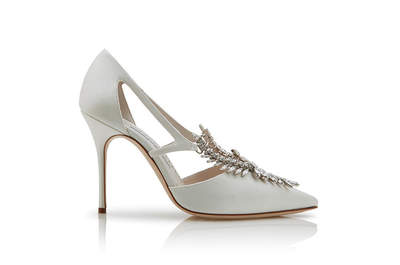Os sapatos de noiva de Carrie Bradshaw agora podem ser seus