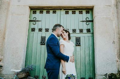 Una boda muy emotiva y familiar: el enlace de Sheila y Paco