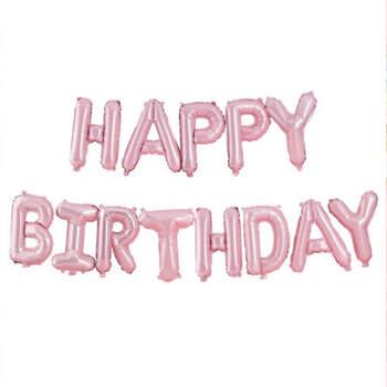Guirnalda de globos de cumpleaños feliz- Compra en The Wedding Shop
