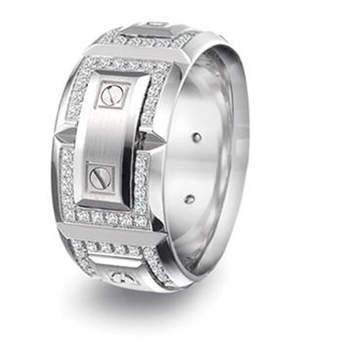 Carlex by CrownRing Platinum Wedding bands