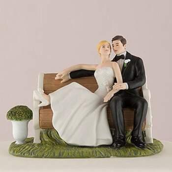 Cake Topper Conjonts Dans Le Jardin - The Wedding Shop !