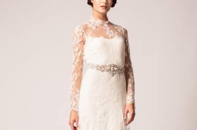 Optez pour la nouvelle tendance  2015 des robes de mariée effet tatouage.