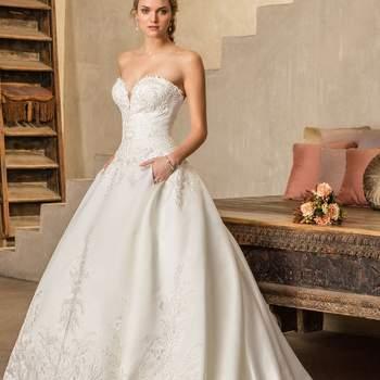 Suknie ślubne z dekoltem w serduszko. Jedyne i niepowtarzalne!