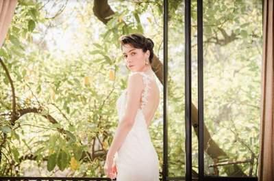 ¡Atención novias! Cinco consejos que te ayudarán a lucir el vestido perfecto