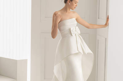 An inspirational 1950's style for your bridal look