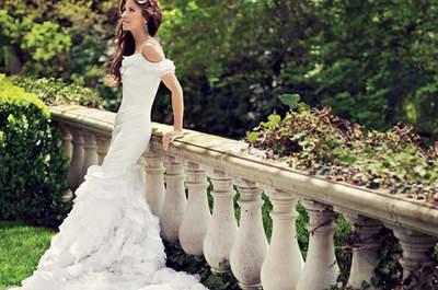 Alta costura en los vestidos de novia de Ralph Lauren