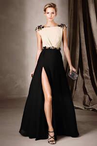 Elegância máxima com vestidos de festa pretos longos 2017 para madrinhas e convidadas!