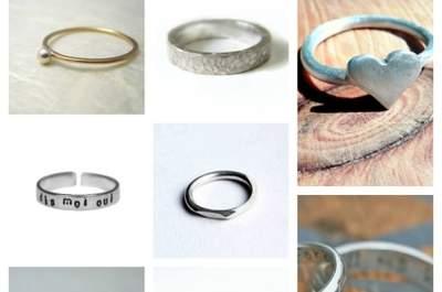 Etsy : alliances originales, bagues de fiançailles faites main et vintage