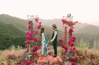 Casar ao ar livre: 90 estilos de decoração para o altar!