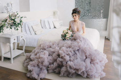 Будуарное утро невесты Sweet lilac morning