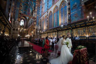 Ślub w Kościele Mariackim i pierwszy taniec w rytmie rumby. Poznajcie Izabelę i Scotta!