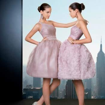 abb351176 Los vestidos cortos con voluminosas faldas serán una apuesta segura para el  2013.