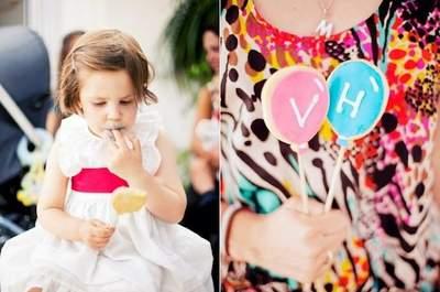5 ideias fáceis para entreter crianças num casamento Foto: Mariana Ortigão
