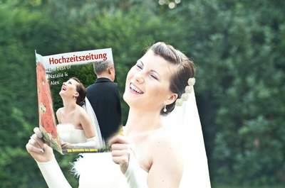 Die Hochzeitszeitung bei Schobuk: Das ultimative Geschenk für das Brautpaar