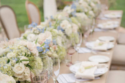 Striking Wedding Table Plate Settings 2016