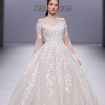 Demetros. Credits: Barcelona Bridal Fashion Week