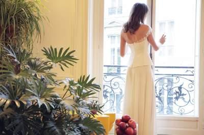 Poésie et délicatesse au coeur la nouvelles collection de robes de mariée signée Amarildine
