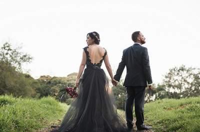 Susy y Mauro: ¡Una novia de negro y un príncipe azul!