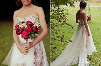 Cómo usar los tonos rojos en tu matrimonio: decora tu boda con el color del amor