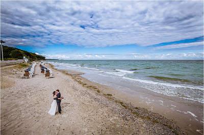 Traumhochzeit am Meer – Steffi & Jan heirateten an der Ostsee!