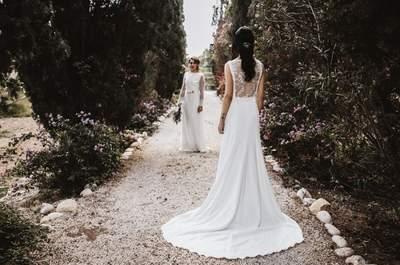 Lo romántico, lo árabe y lo rural combinados para inspirar a las novias más originales