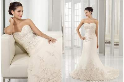 Vestidos de novia con corsé: un estilo sensual y romántico