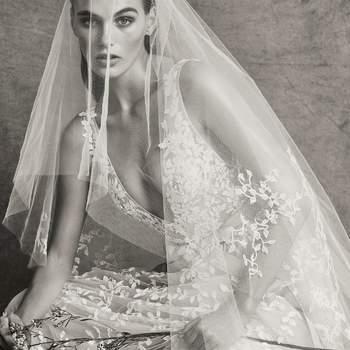 Christie with veil, Zuhair Murad.
