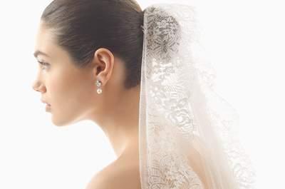 Los mejores velos de novia, un accesorio que no puede faltar. ¡Lo clásico vuelve!
