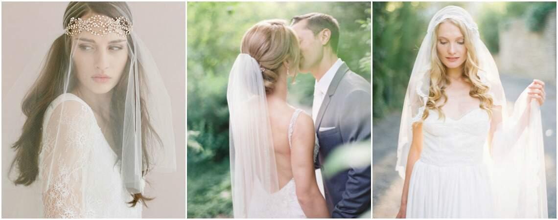 Peinados de novia con velo. ¡Una tradición renovada!