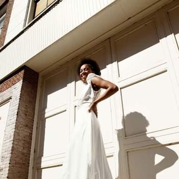 Styled Urban Bridal Shoot | Credits: Rui Jun Luong