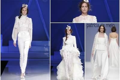 Pantalons de mariée 2013 : glamour et tendance