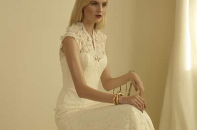 6 tendencias de moda para los vestidos de novia 2013