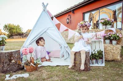 ¿Cómo decorar la mesa de los niños en tu matrimonio? ¡Inspírate con 10 grandes ideas!