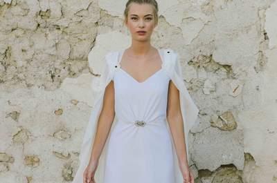 Vestidos de novia de Beba's Closet 2016: enamórate de la sencillez con más estilo