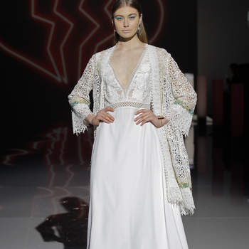 Marylise. Credits: Barcelona Bridal Fashion Week