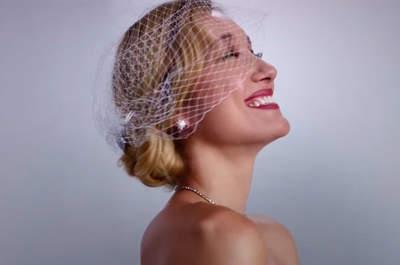 Recorre 10 décadas de vestidos de novia en tres minutos y elige tu look nupcial
