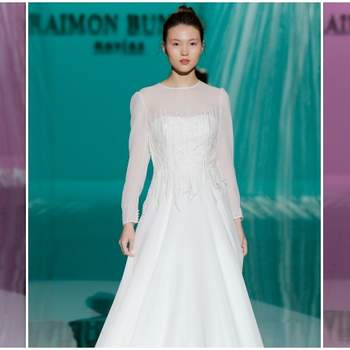 Vestidos de novia Raimon Bundó 2018: Una colección muy vanguardista