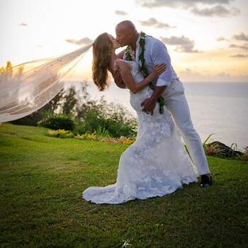 Casamento de Dwayne Johnson & Lauren Hashian | Foto via IG @therock
