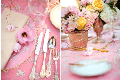 As 6 cores tendências para casamentos na Primavera de 2014