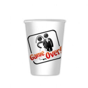 Verres Game Over 8 Pièces - The Wedding Shop !