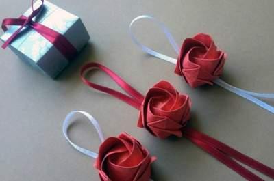 Dobrinhas de amor: o origami.