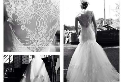 Vestido de noiva feito sob medida: o valor de ser única no seu grande dia