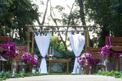 Tudo que precisa saber para o seu casamento ao ar livre sem sair de São Paulo