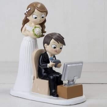 Cake Topper Mariée Jeux Vidéo - The Wedding Shop !